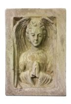 Garden folly Gothic Angel wall panel